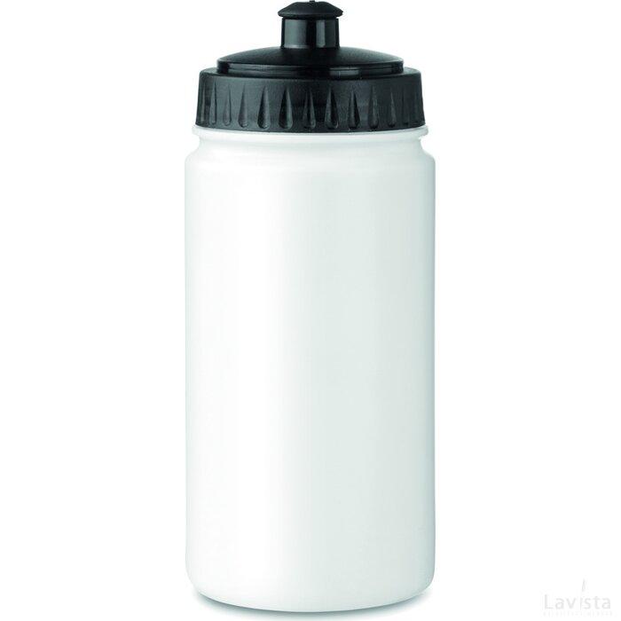 Kunststof drinkfles Spot Five Wit