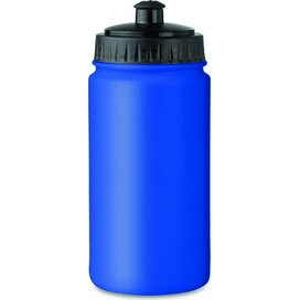 Kunststof drinkfles 500 ml Spot five royal blauw