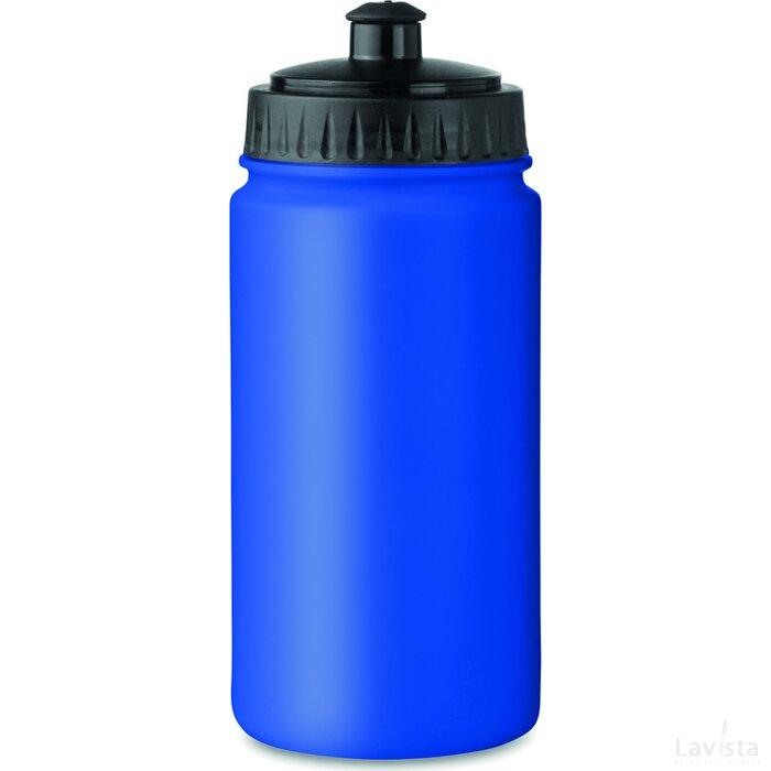 Kunststof drinkfles Spot Five (Kobalt) blauw