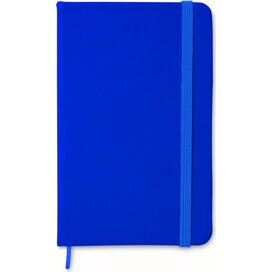 A6 notitieboekje, gelinieerd NOTELUX Blauw