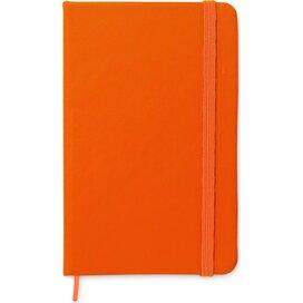 A6 notitieboekje, gelinieerd NOTELUX Oranje