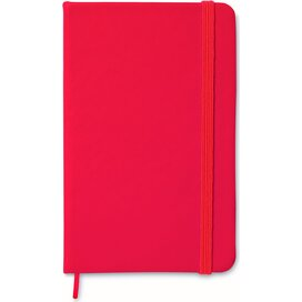 A5 notitieboek, gelinieerd ARCONOT Rood