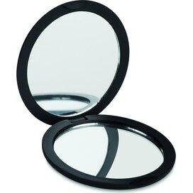 Dubbele spiegel (rond) Stunning Zwart