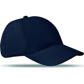 Katoenen baseball cap Basie Blauw