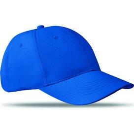 Katoenen baseball cap Basie (Kobalt) blauw