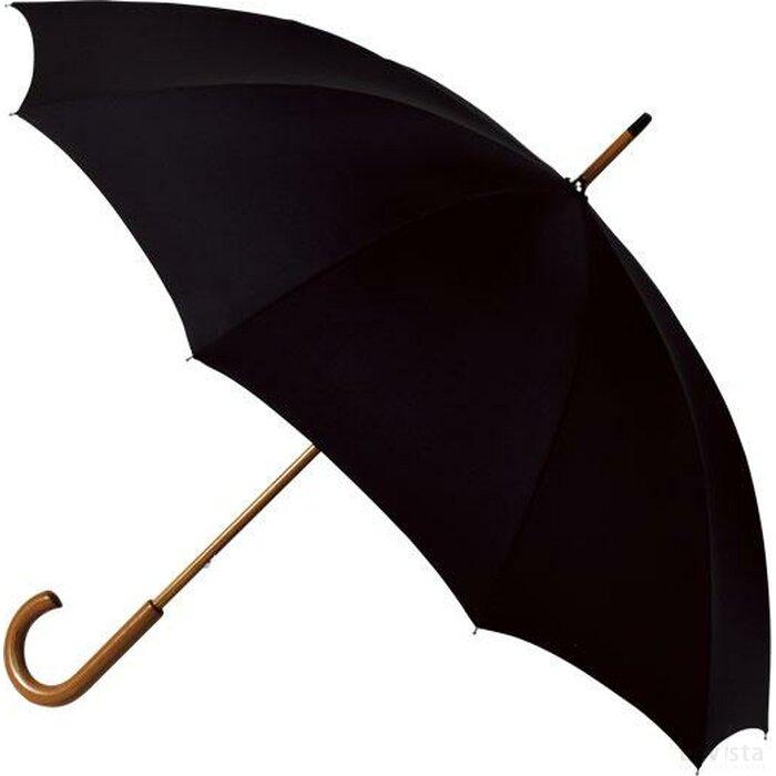 paraplu, 10 banen zwart