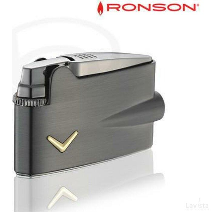 Ronson Mini Varaflame - Gun Metal
