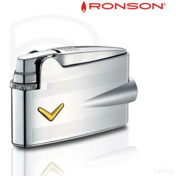 Ronson Mini Varaflame - Chrome -v-