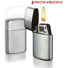 Ronson Typhoon Petrol - Chrome