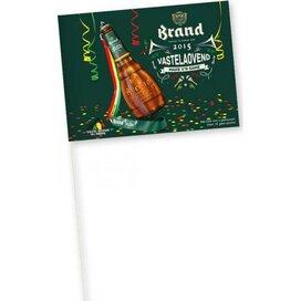 Vlaggetjes van papier 150 g/m2 14,8 x 22 cm