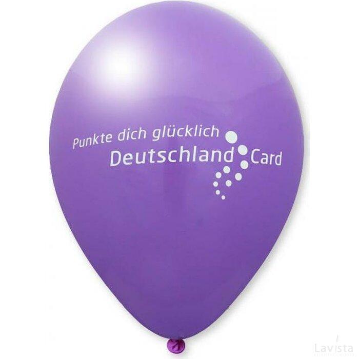 Ballon 75/85 cm paars