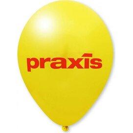 Ballon 90/100 cm donkergeel