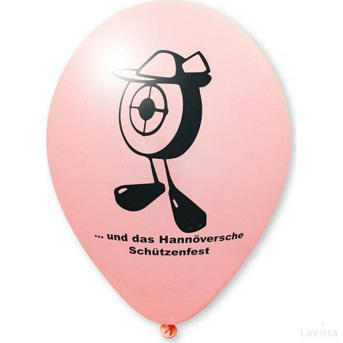 Ballon 90/100 cm roze