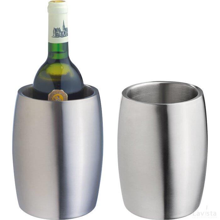 Wijnkoeler RVS Warendorf grijs