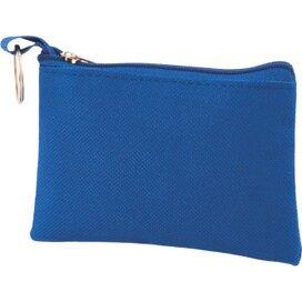 Sleuteltasje met rits polyester 600D donkerblauw