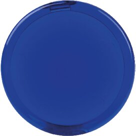 Spiegel rond, ? 68 mm. SALE donkerblauw