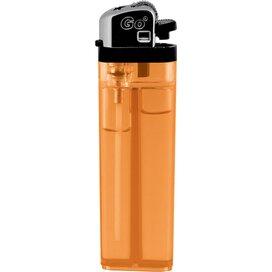 GO wegwerp transparant orange
