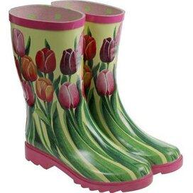 Dames tulpen laars Multi color
