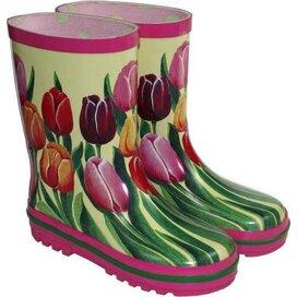Kinder tulpen laars Multi color