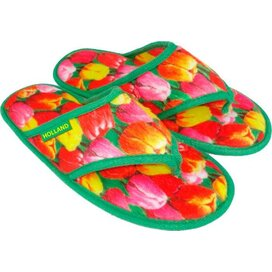 Flipflop slippers Tulpen decor
