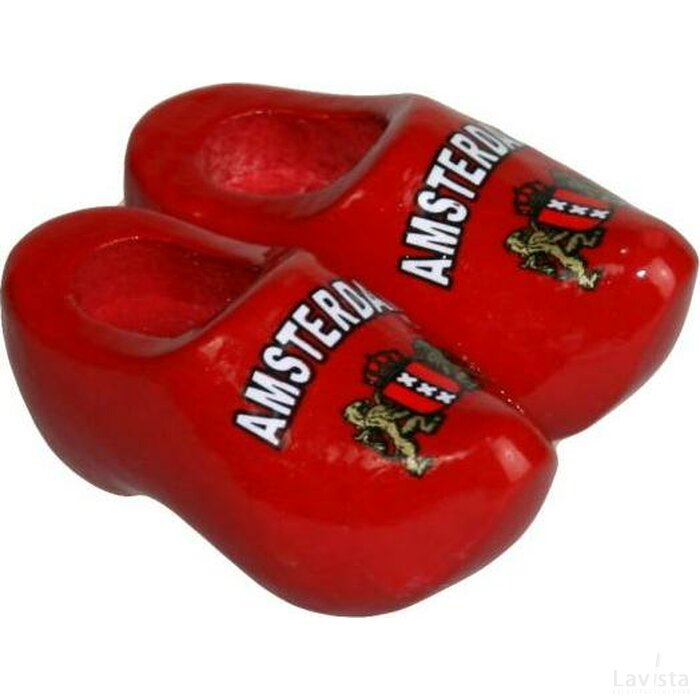 Magneetklompjes Amsterdam rood