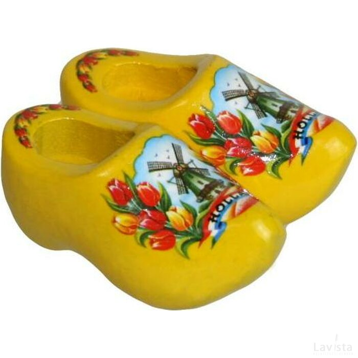Magneetklompjes Tulp geel
