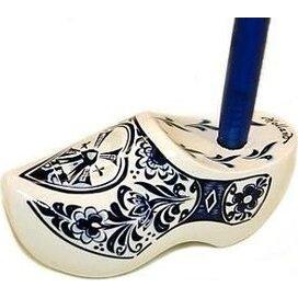 Pennenklomp 8,5 cm Wit Delfts-blauw