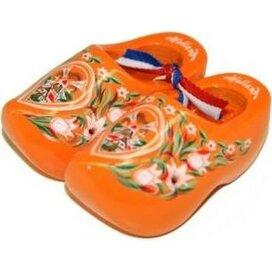Souvenirklompje 8,5 cm Oranje met molen