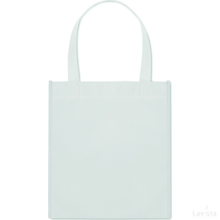 Non-woven boodschappentas Apo Bag Wit