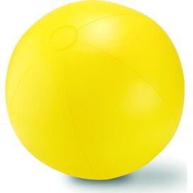 Grote opblaasbare strandbal Play Geel