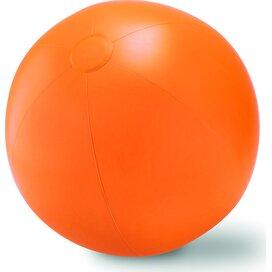 Grote opblaasbare strandbal Play Oranje