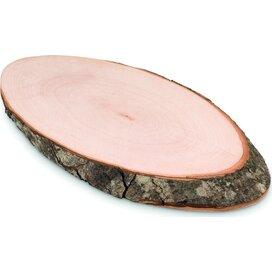 Ovale houten snijplank Ellwood Runda Bruin