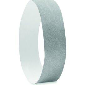 1 Vel met 10 event armbandjes  Tyvek zilver