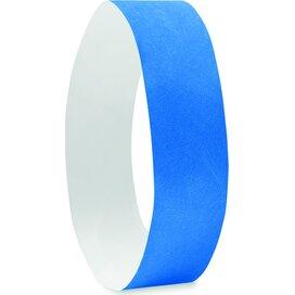 1 Vel met 10 event armbandjes  Tyvek (Kobalt) blauw