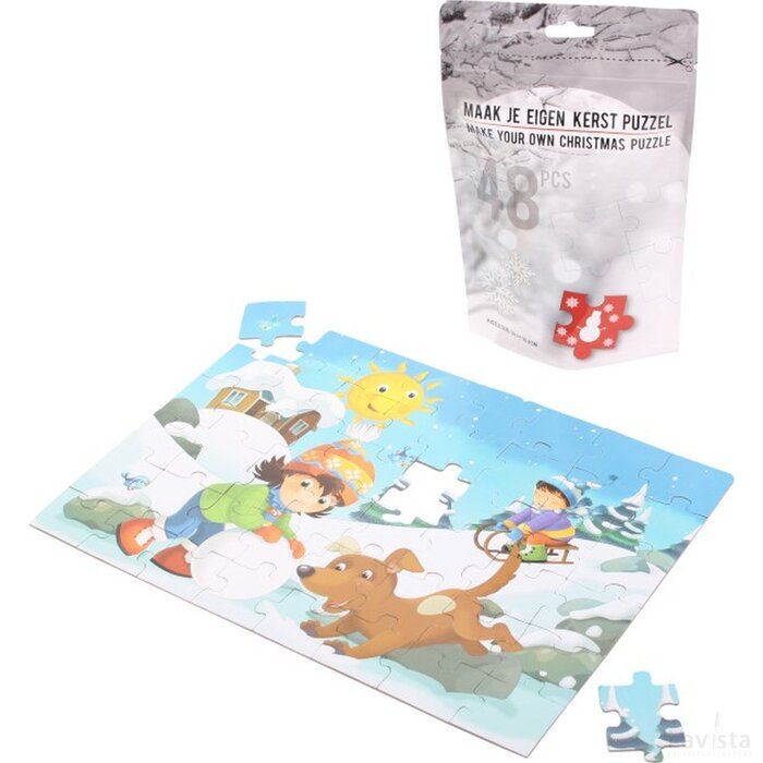 Winter Children's Puzzle