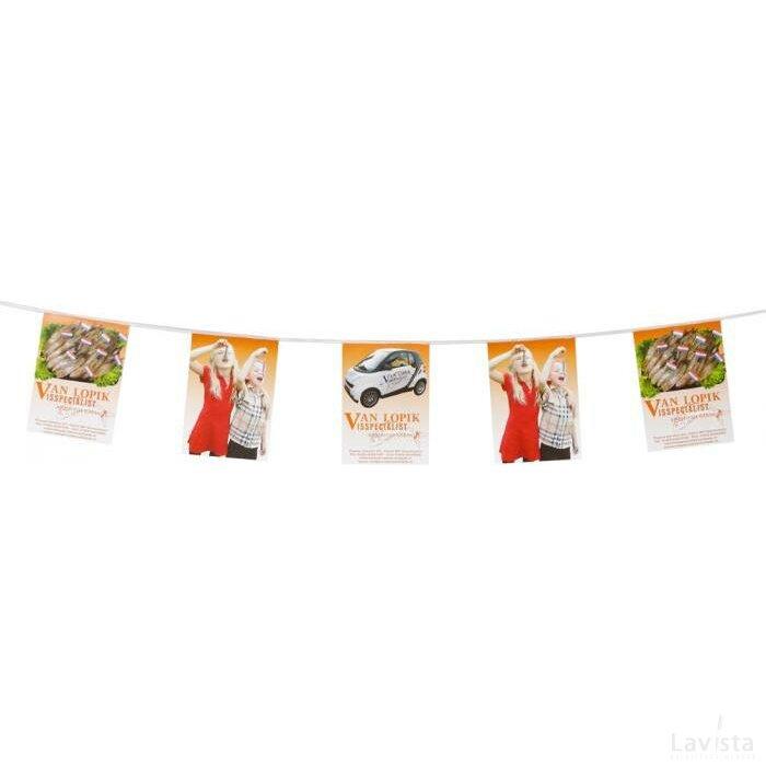 Vlaggenlijn papier 150g/m2 kleine oplage
