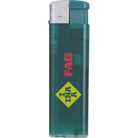 Platte Elektronische TL aansteker, navulbaar Groen