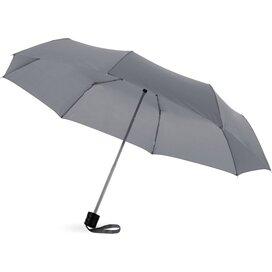 Ida 21.5'' 3 sectie paraplu Grijs