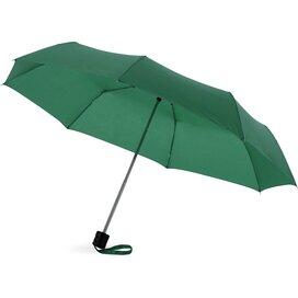 Ida 21.5'' 3 sectie paraplu Groen