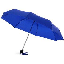 Ida 21.5'' 3 sectie paraplu koningsblauw