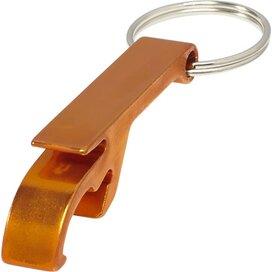 Tao sleutelhanger met fles en blikopener Oranje