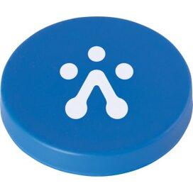 Magneet ø 40 mm. Blauw