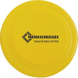 Frisbee mini 10 cm. Geel