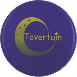 Frisbee bedrukt 21 cm. zonder ringen