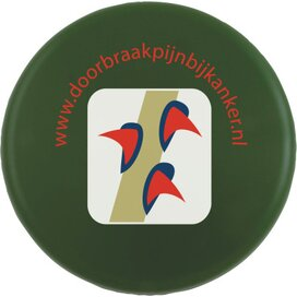 Frisbee 21 cm. zonder ringen Groen