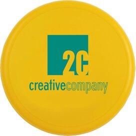 Frisbee 21 cm. zonder ringen Geel