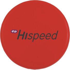 Frisbee 21 cm. zonder ringen Rood