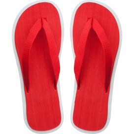 Cayman Strand Slippers Rood