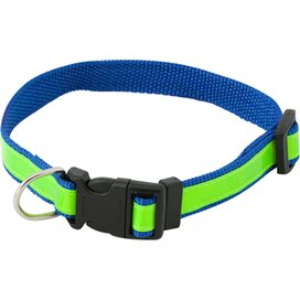 Muttley Reflecterende Halsband (kobalt) Blauw