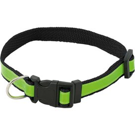 Muttley Reflecterende Halsband Zwart